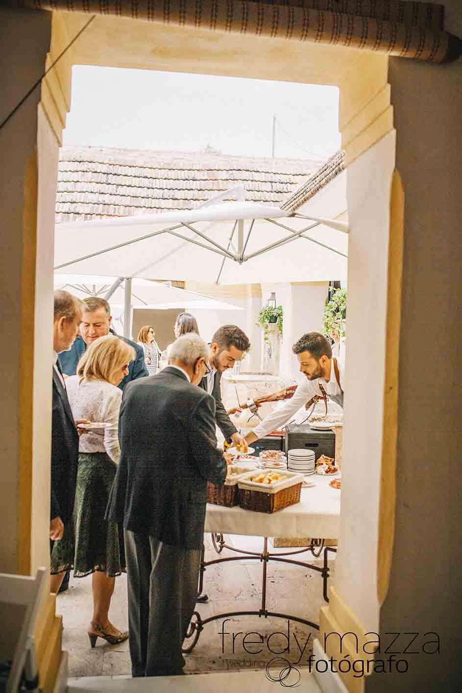 Cortador de jamón Murcia Fotografo boda